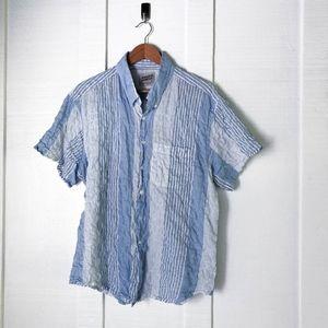 NAKED & FAMOUS Lightweight Summer Beach Shirt XL